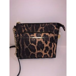 Steve Madden cheetah crossbody purse